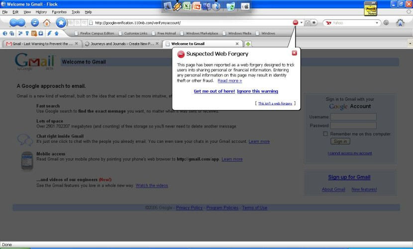 Preventing Your Self from Being a Gmail Phishing Victim – Important Tips