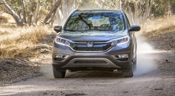 2015 Honda CRV Review