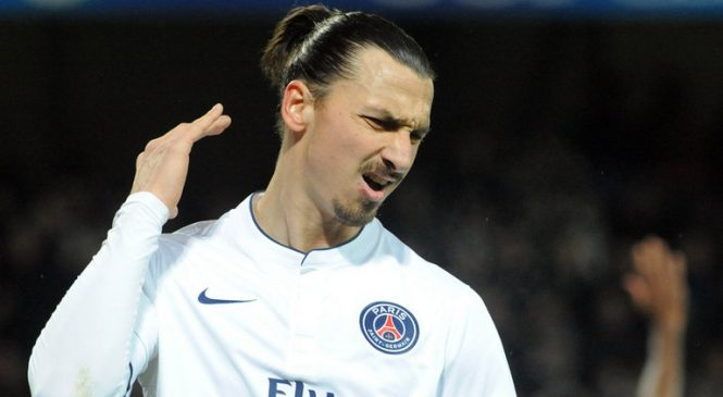 The players from Chelsea behaved like children- Zlatan Ibrahimovic