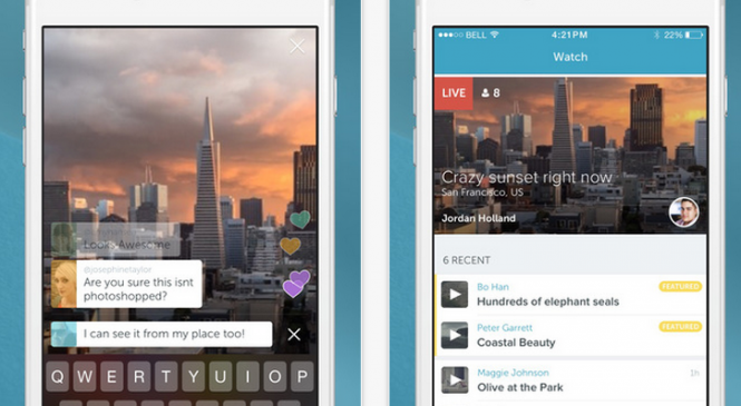 Review: Periscope app for iOS – Shoot, stream together live