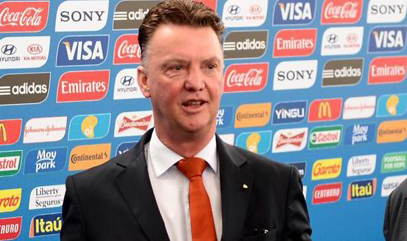 Louis van Gaal thanks the Man U fans for being faithful