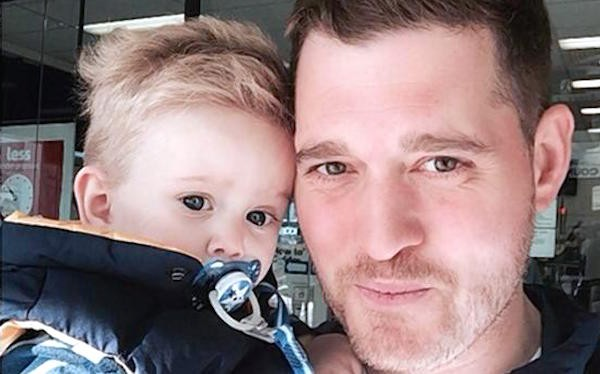 Son of Michael Buble in the hospital after suffering burns