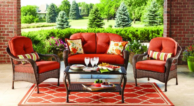 The online purchase of furniture for your home and garden