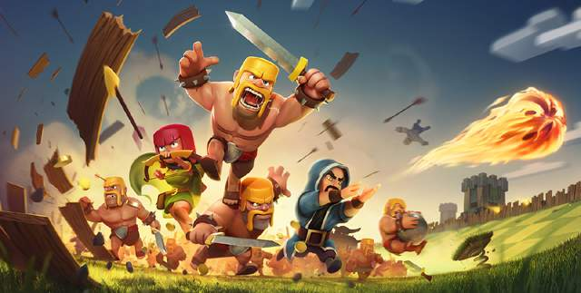 Clash of clans- A very popular mobile game