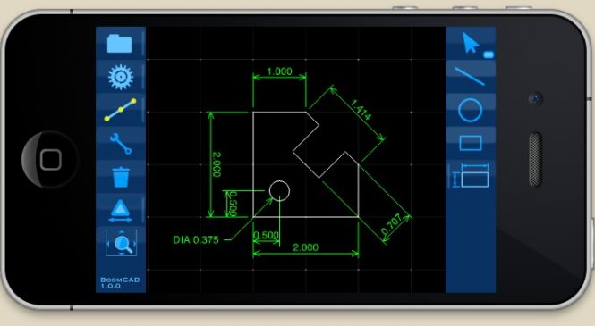 Top 5 best and most used CAD apps for Smartphone – 2016