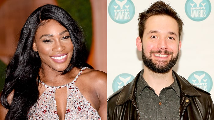 Serena Williams being engaged to Reddit's Co Founder, Alexis Ohanian