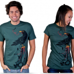 T-shirts inspired by nature