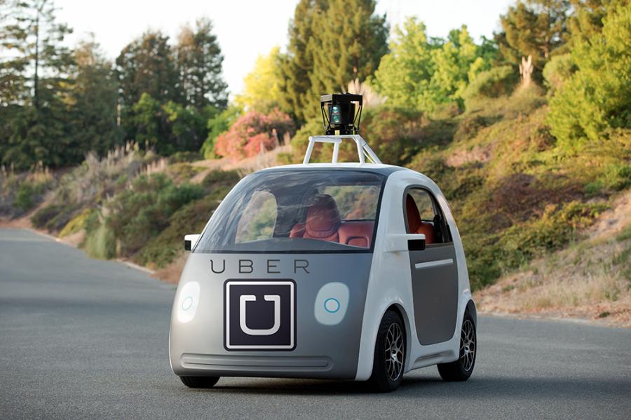 uber driverless vehicle