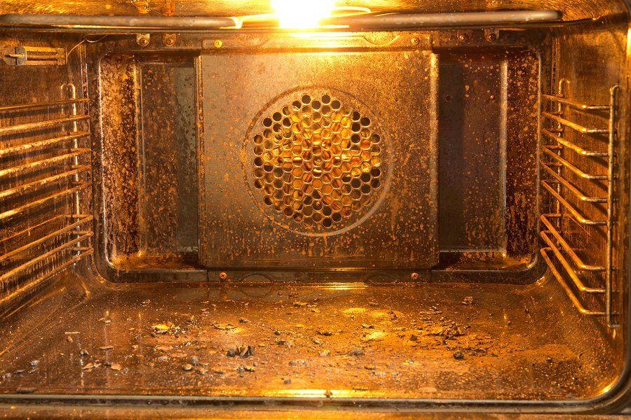 oven heating problem