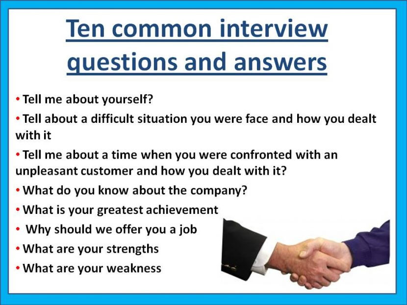How To Answer Silly Questions At Interviews