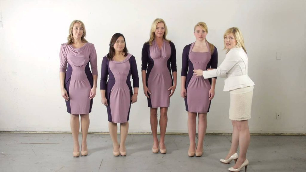 Change in dress, to complement your body structure