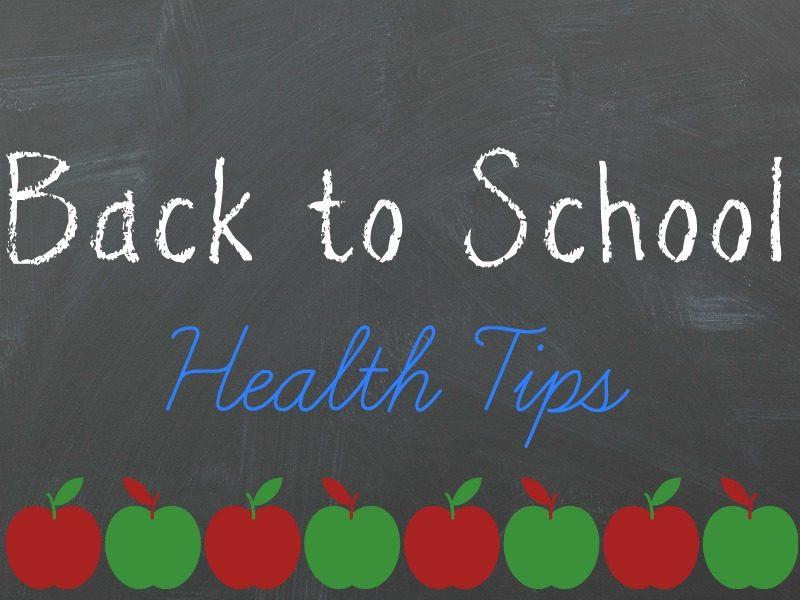 health tips for studnets