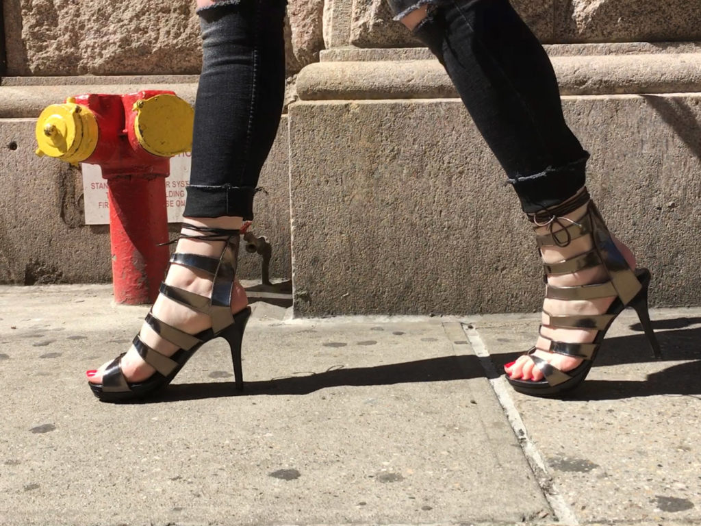 high heel benefits