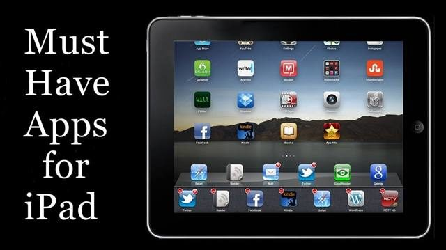 4 Must-Have iPad Apps