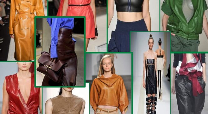 Essential Trends For Spring Summer 2018