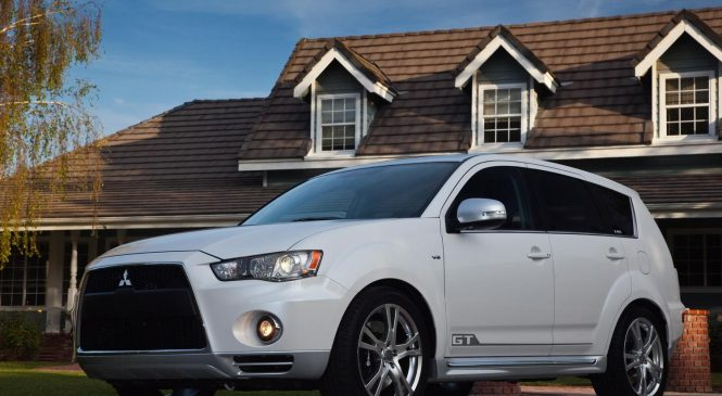 Mitsubishi outlander to adopt dynamic shield technology