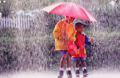 Taking good care of your children during the rainy season