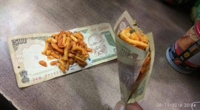 How to exchange the 500Rs and 1000Rs Old Notes into 100Rs Notes?