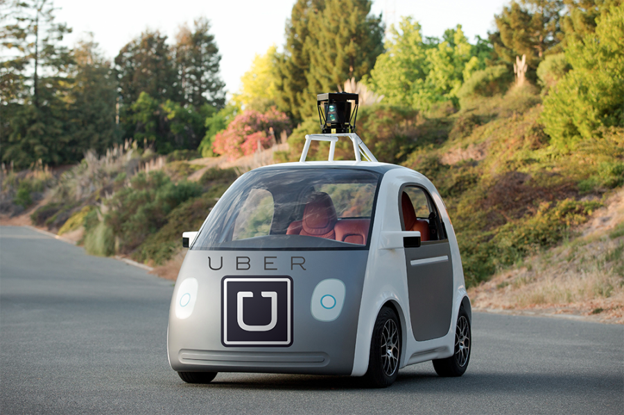 uber driverless vehicle