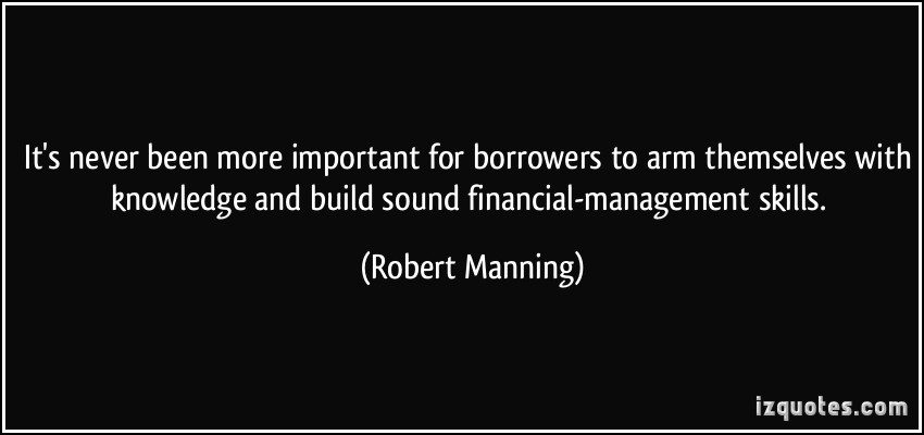 Financial Skills Quote