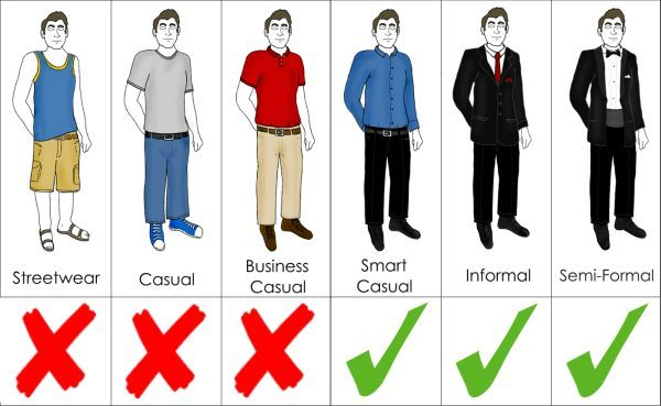 interview clothes for men