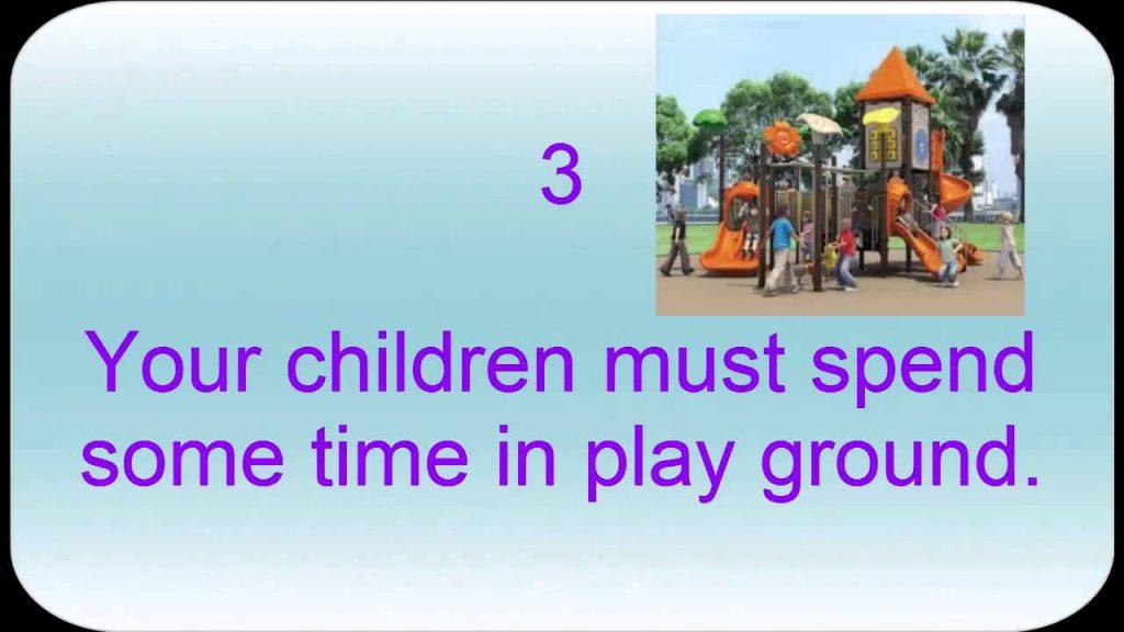 kids gaming health tips