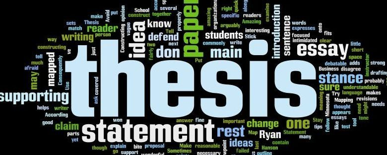Tips to write an outstanding thesis statement