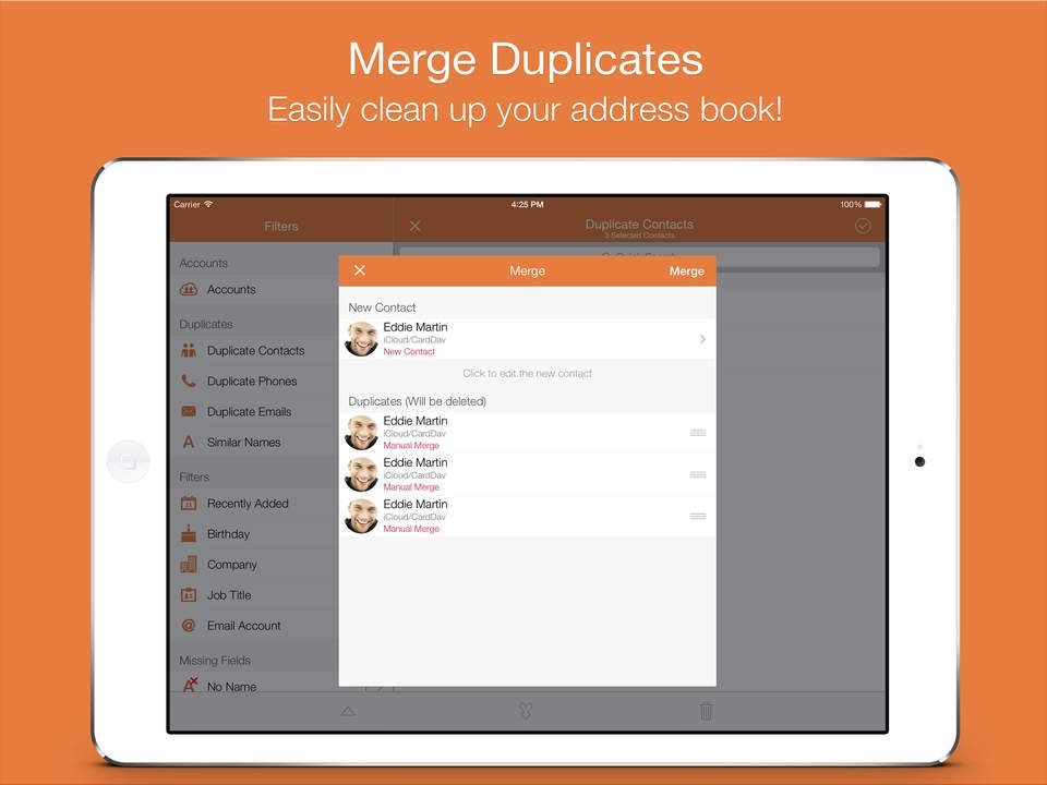 How To Remove Duplicate Contacts In iCloud