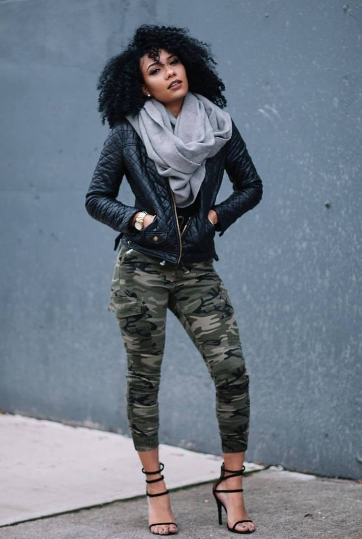Black Fashion Girl