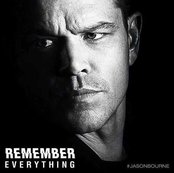 Jason Bourne- pretty good until its flat finish