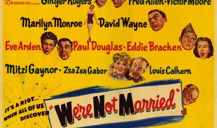 We're Not Married: a 1950s Comedy about Marriage