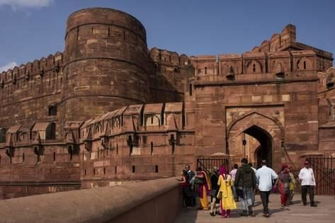 UNESCO's World Heritage Site Agra Fort (India)