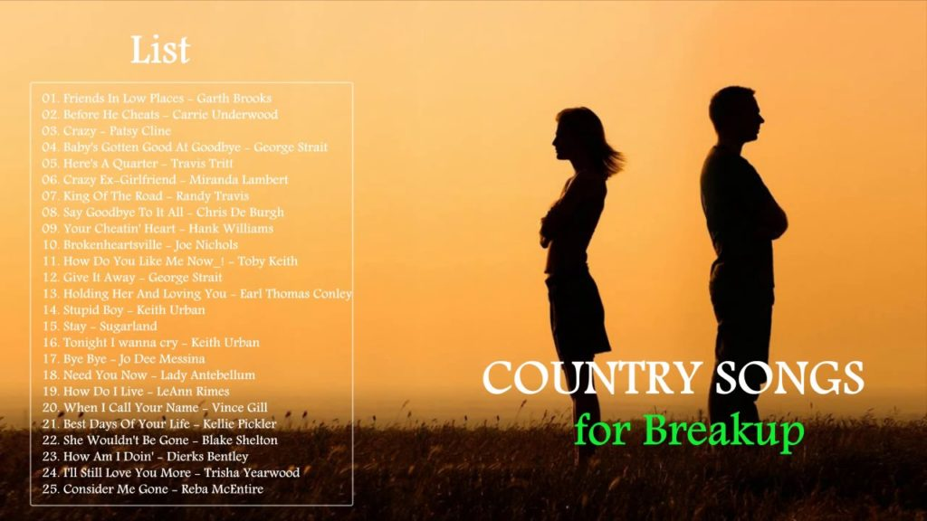 best breakup songs