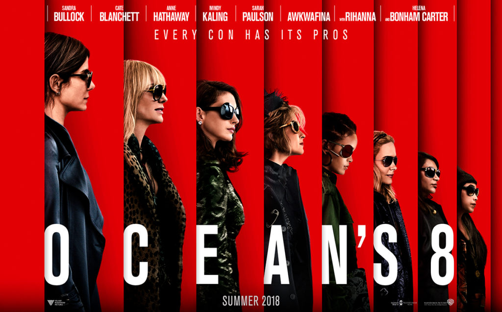 Oceans 8 movie trailer