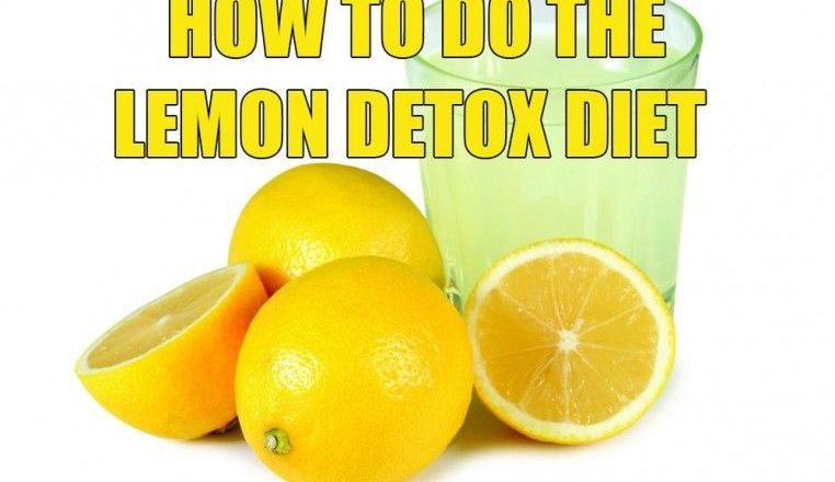 Master Cleanse – Detox Tips