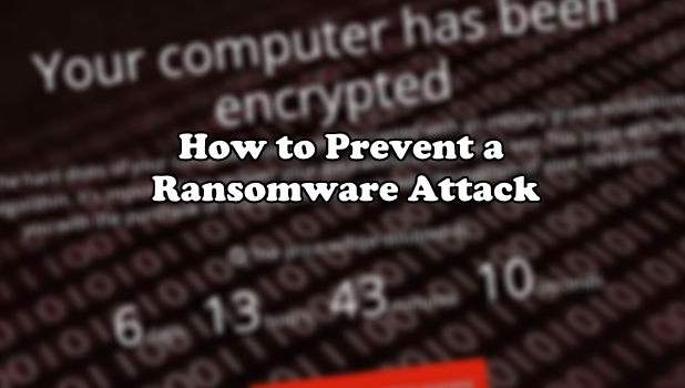 Avoiding Ransomware Attacks