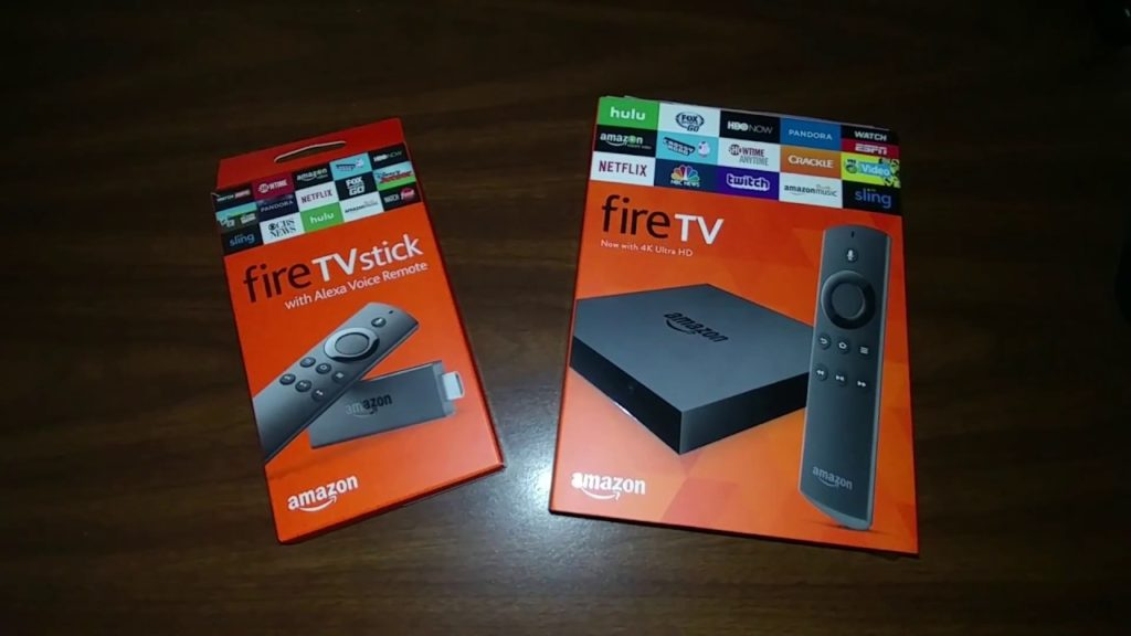 Fire TV Box and the Fire TV Stick