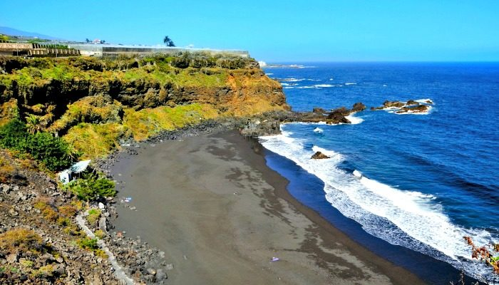 El Bollullo Beaches in Tenerife