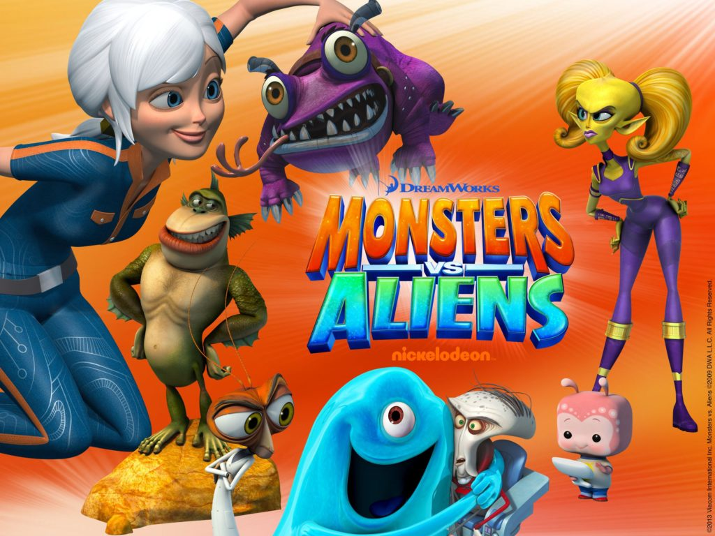Monsters Vs. Aliens -Halloween
