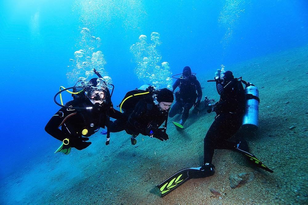 Open Water and Advanced Package-scuba diving