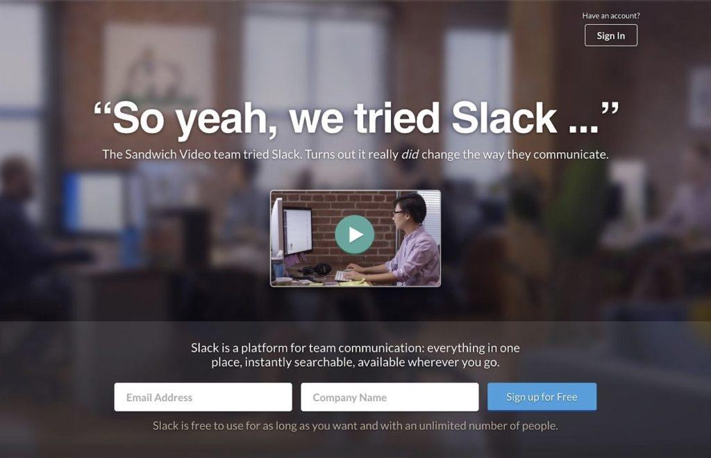 Creating App Landing Page
