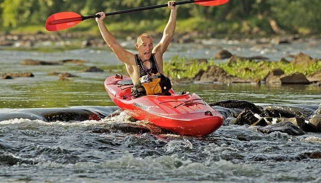 River runner kayak event and cost of ultralight kayak