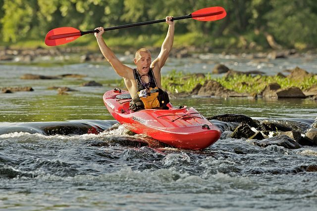 River runner kayak