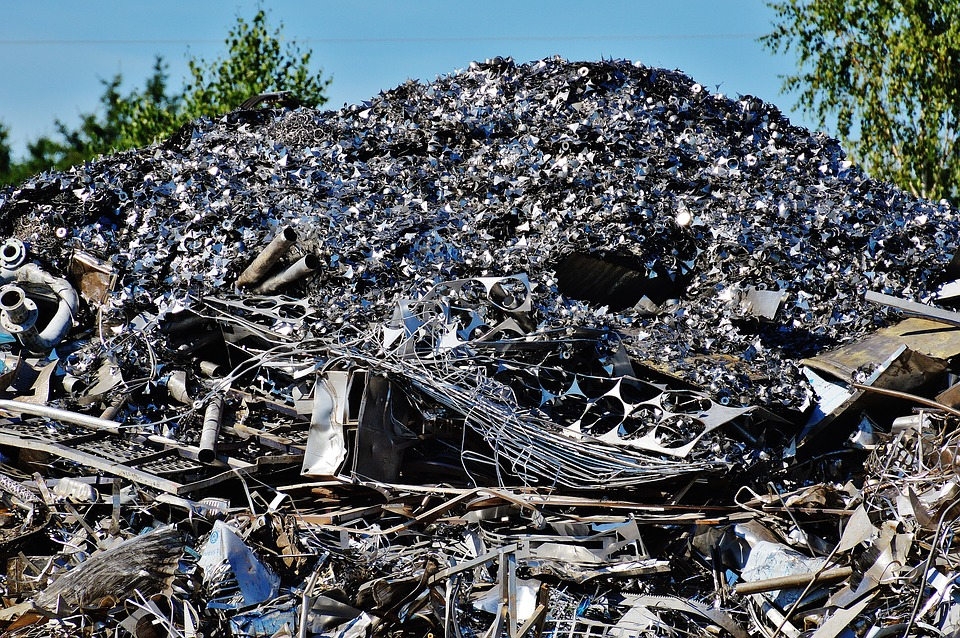 The Environmental Impact of Metal Recycling