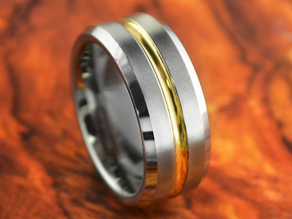 Tungsten carbide rings from LaLaserEngraving