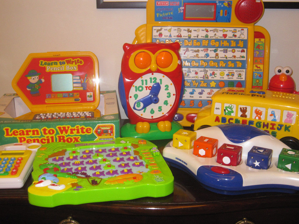 VTech and Leapster Electronic Toys