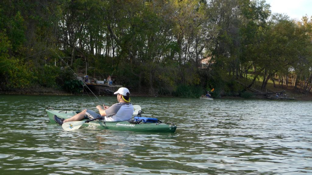 river fishing kayak