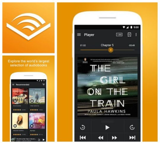 Audible Your Routine Audiobook Apps to Keep You Entertained