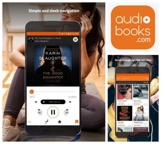 Your Routine Audiobook Apps to Keep You Entertained