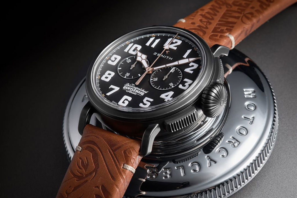 chronograph featured Zenith Pilot Watches